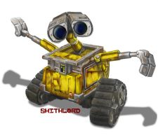 Wall-E WIP by shithlord