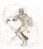 the Quantum Kamen Rider by caananwhite