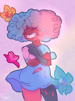 COTTON CANDY GARNET by NicMangle