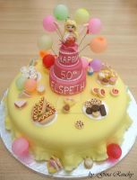 Party Surprise Cake by ginas-cakes