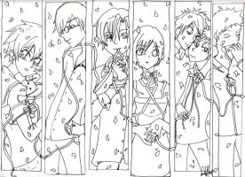 ouran highschool coloring pages - photo#49