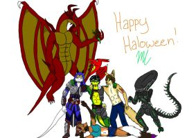 Haloween Collage by misty2999