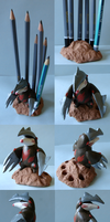 Excadrill pencil stand