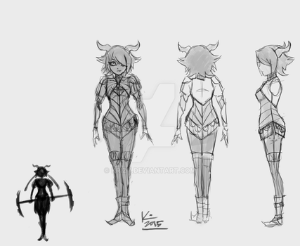 Character Turnaround by Krizy