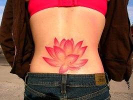 lotus by newtskewltattoo