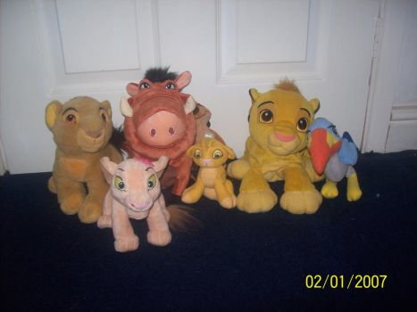 Things for sale 1: lion king teddies. by TheMinecraftBro