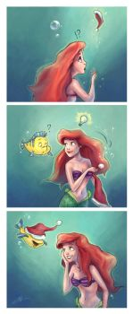 Ariel winter comic by svyre