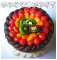 Fruity cake by coffishop