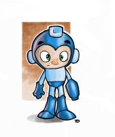 MegaMan Fanart by UnusualHero