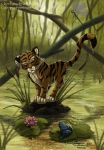Tiger cub marsh by ClaireLyxa