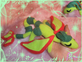 sleeping flygon plush