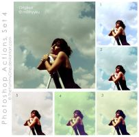 Photoshop Actions, Set 4 by TheYummyOne