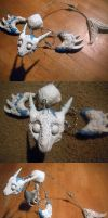 Posable Sea serpent WIP by MaryBunnie