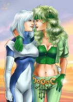 Fire and Ice by Autumn-Sacura
