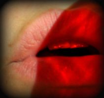 my lips, they burn with red by Naenew