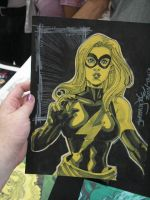 TAMPA sketch Ms Marvel by thejeremydale