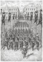 The Victory Parade by JanBoruta