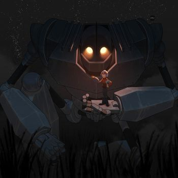 Iron Giant by pacman23