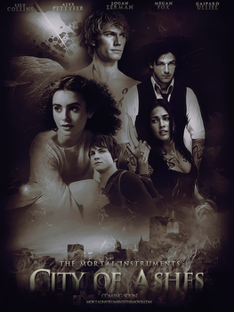 City of Ashes Movie Poster by Ardawling