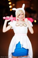 Fionna punch all your buns! by KaitoEinsam