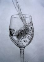 Glass Of Water by kyynelmys
