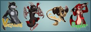 RainFurrest Badges 2 by Idess