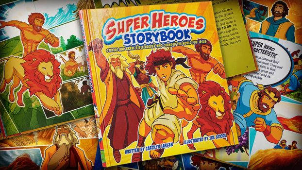 Super Heroes Storybook by eikonik