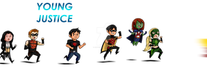 Running Young Justice by AnimeFan2006
