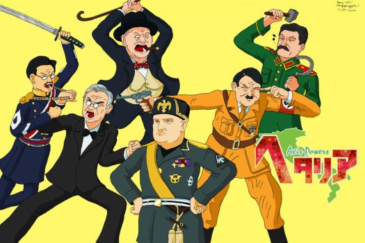 The REAL 'Axis Powers Hetalia' by CptFarfegnugen