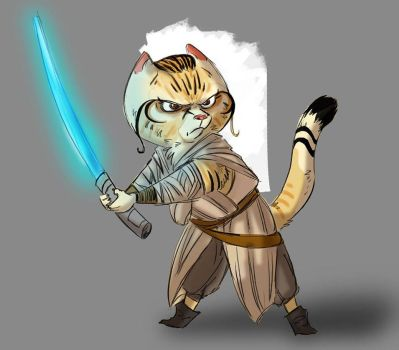 May the Meow be with you by darkfox907