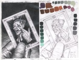 Joker Value Study and Swatches by No-Sign-of-Sanity