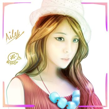 Ailee Painting by riyuel