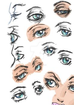 Eyes by MzPineapple