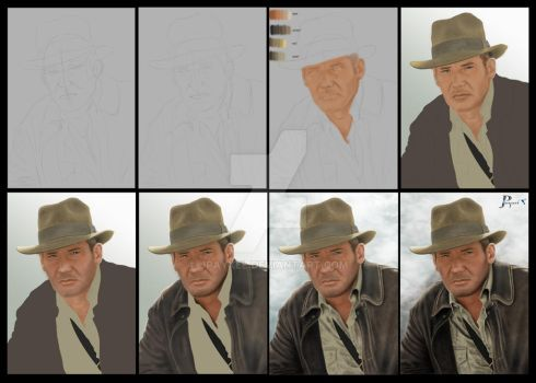 Creating Indy by JPayxel