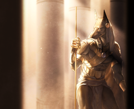 Anubis by kotorikurama