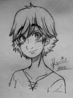 Hiccup Sketch by Blackbutler136