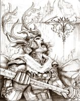 Song of Ice and Fire Robert Baratheon by DubuGomdori