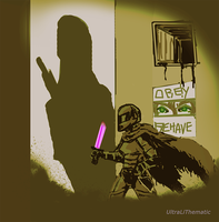 Quick painting: Sneaky Infiltrator by UltraLiThematic