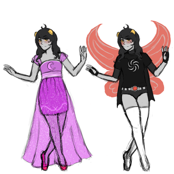 More Homestuck OCs? More Homestuck OCs by ayame-theicequeen
