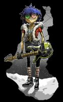 Noodle from Gorillaz by Ormid