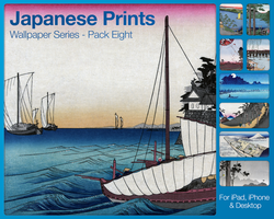 Japanese Prints Pack Eight by city17