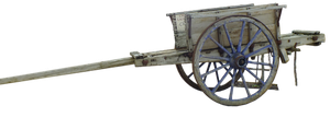 PNG - Old cart by HermitCrabStock