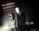 PewDiePie and Slender man by x-Tsuka-x