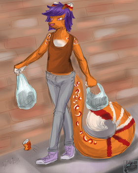 Just went shopping by mimisosa