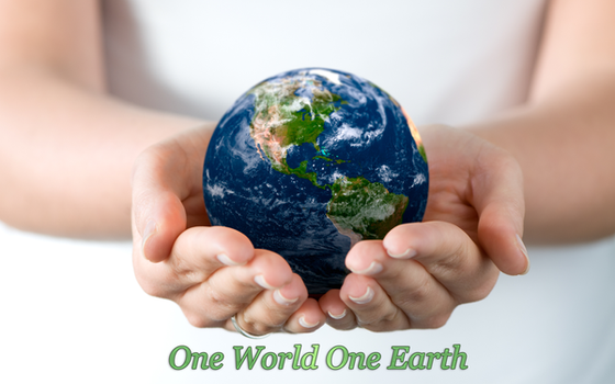 One World One Earth by zinph