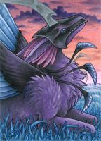 ACEO for Mistress of Air by Dragarta