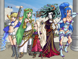 Godesses of Angel Land by ChetRippo
