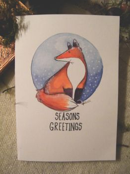 Christmas card by Breathe-by-Claire