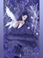 My purple fantasy by Eireen
