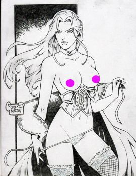 EMMA FROST WHITE QUEEN by RODEL MARTIN (07332017) by rodelsm21